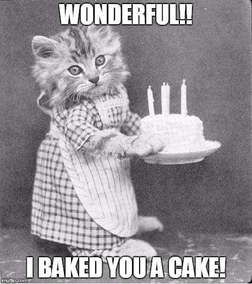 Image tagged in cake cat - Imgflip