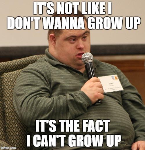1ja0jv down syndrome imgflip,Syndrome Meme