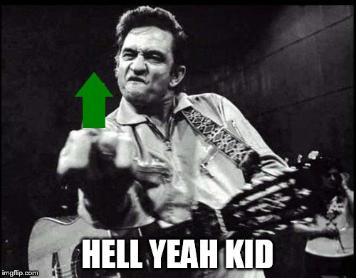 HELL YEAH KID | made w/ Imgflip meme maker