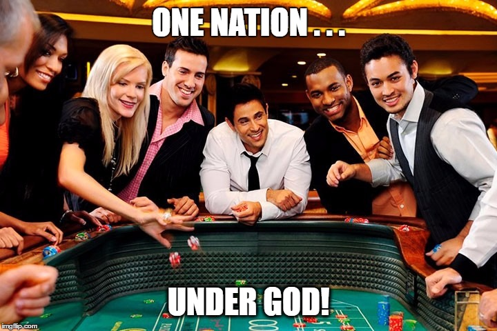 One nation .. under God! | ONE NATION . . . UNDER GOD! | image tagged in god,pledge of allegiance,nation,inspiring,america,united states | made w/ Imgflip meme maker