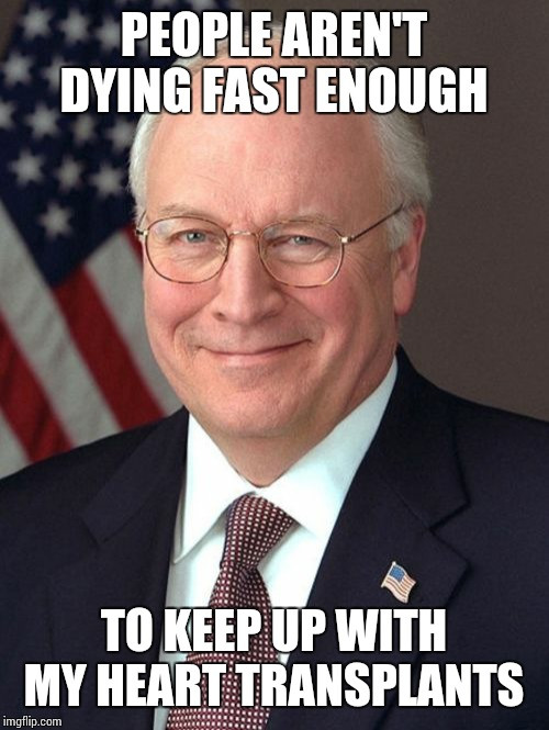 Dick cheney's heart transplant sparks debate