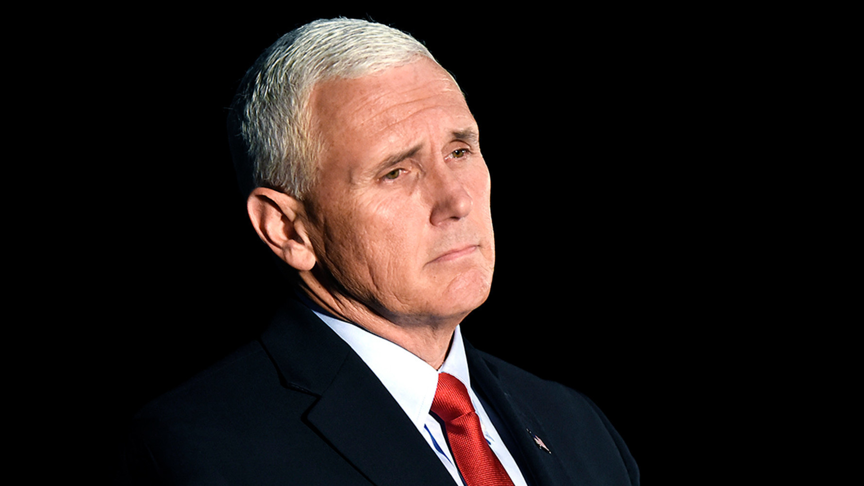 High Quality sad mike pence Blank Meme Template