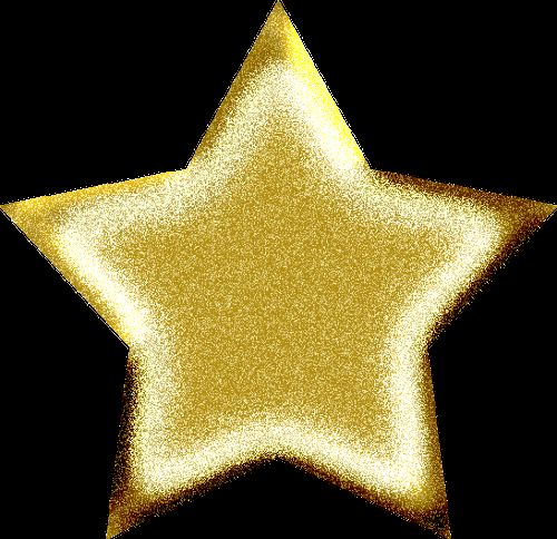 Gold Star Template