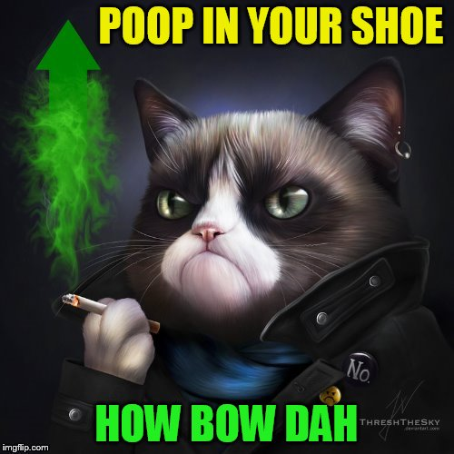 POOP IN YOUR SHOE HOW BOW DAH | made w/ Imgflip meme maker