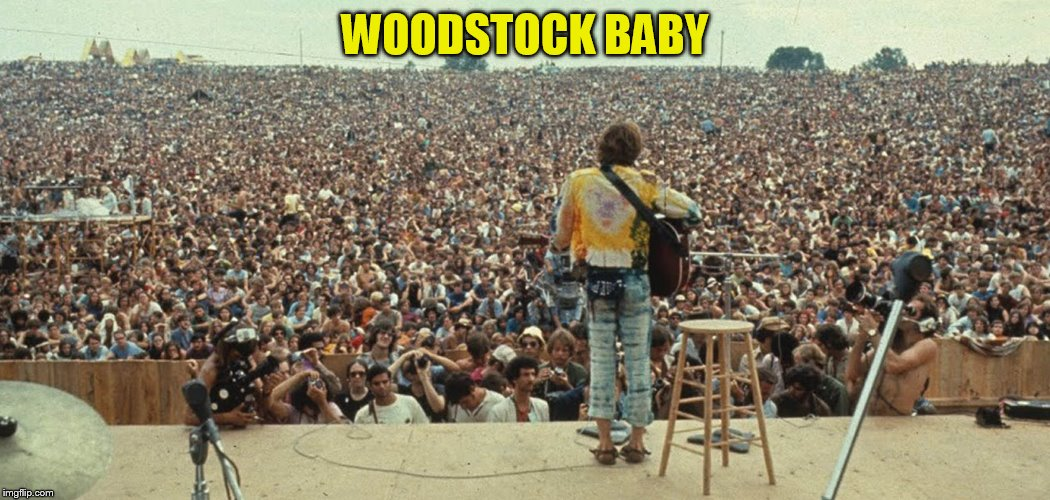 WOODSTOCK BABY | made w/ Imgflip meme maker