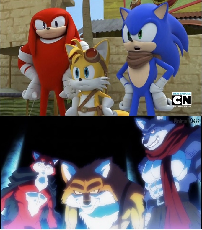 Sonic Y Dragon Ball Super Blank Template Imgflip