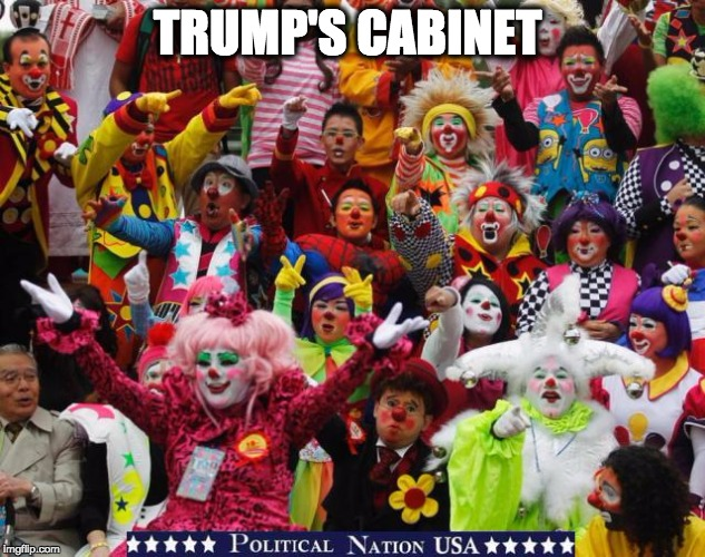 TRUMP'S CABINET | image tagged in nevertrump,never trump,nevertrump meme,dump trump,dumptrump | made w/ Imgflip meme maker