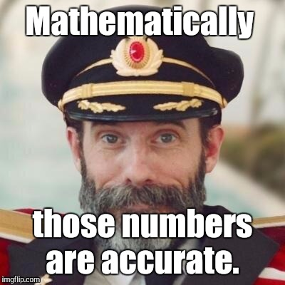 1jdo5i.jpg | Mathematically those numbers are accurate. | image tagged in 1jdo5ijpg | made w/ Imgflip meme maker