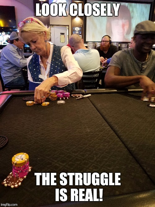 LOOK CLOSELY THE STRUGGLE IS REAL! | made w/ Imgflip meme maker