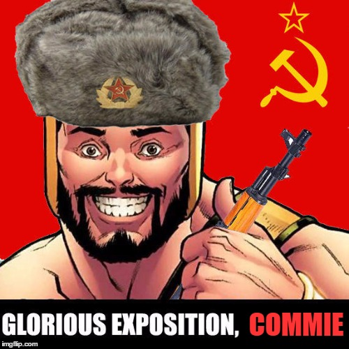COMMIE | made w/ Imgflip meme maker