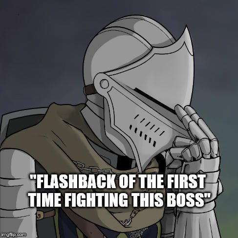 """FLASHBACK OF THE FIRST TIME FIGHTING THIS BOSS"" 