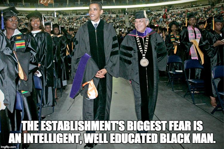 educated black man meme