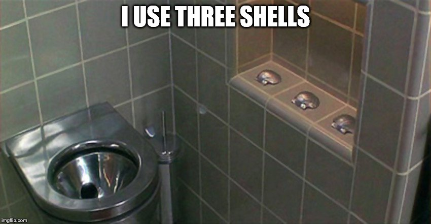 I USE THREE SHELLS | made w/ Imgflip meme maker