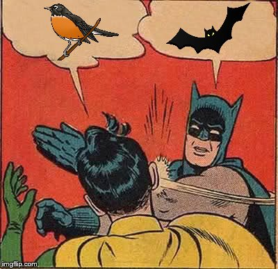 Batman Slapping Robin Meme | , , | image tagged in memes,batman slapping robin,funny memes,bat,no words,silent | made w/ Imgflip meme maker