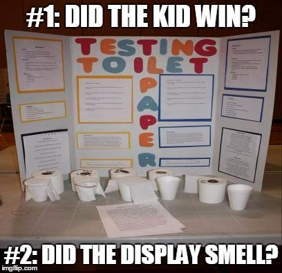 #1: DID THE KID WIN? #2: DID THE DISPLAY SMELL? | made w/ Imgflip meme maker