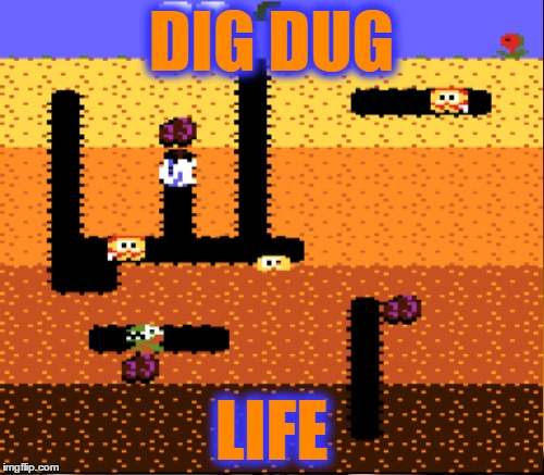 DIG DUG LIFE | made w/ Imgflip meme maker