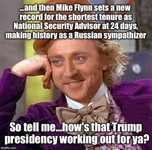 Image result for trump national security advisor meme