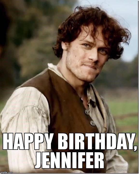 Outlander Happy Birthday Meme Generator