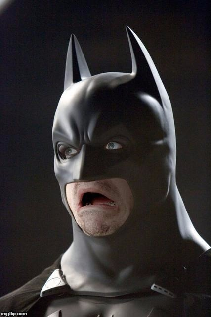 Batman Gasp | G | image tagged in batman gasp | made w/ Imgflip meme maker