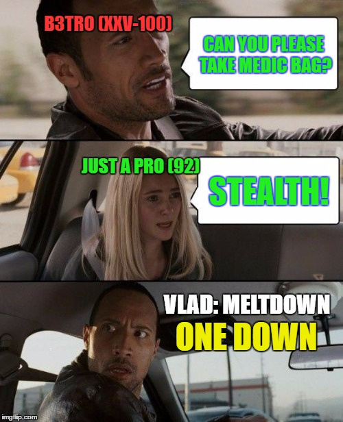 1jpx4w the rock driving meme imgflip,One Down Meme