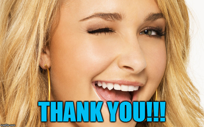 THANK YOU!!! | made w/ Imgflip meme maker