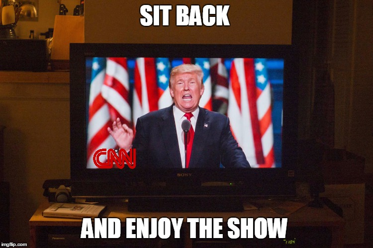 SIT BACK AND ENJOY THE SHOW | made w/ Imgflip meme maker
