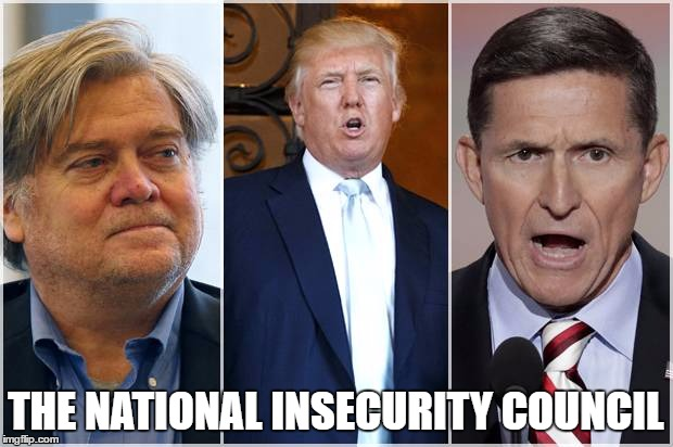 THE NATIONAL INSECURITY COUNCIL | made w/ Imgflip meme maker