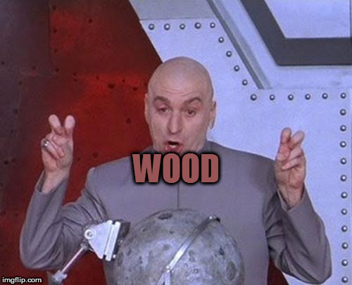 Dr Evil Laser Meme | WOOD | image tagged in memes,dr evil laser,did you just assume my gender | made w/ Imgflip meme maker