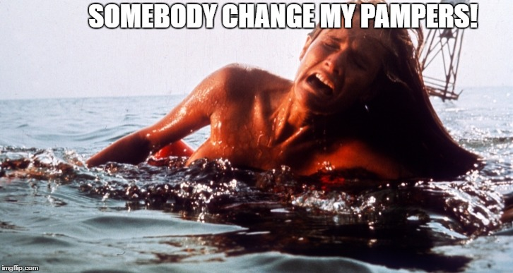 SOMEBODY CHANGE MY PAMPERS! | made w/ Imgflip meme maker