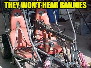 THEY WON'T HEAR BANJOES | made w/ Imgflip meme maker