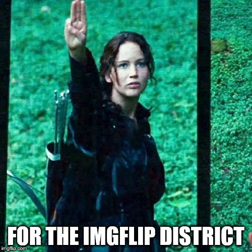 FOR THE IMGFLIP DISTRICT | made w/ Imgflip meme maker