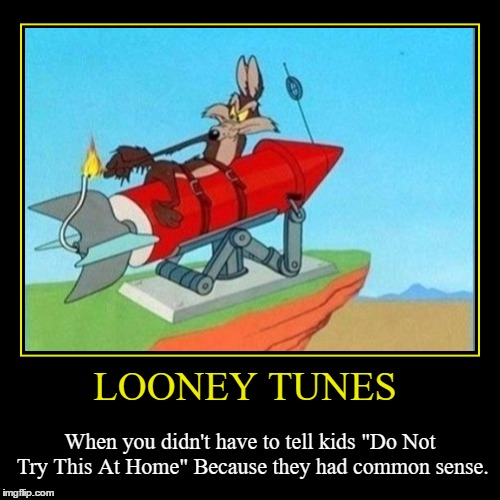 "Cartoon Week a Juicydeath1025 event!  | LOONEY TUNES | When you didn't have to tell kids ""Do Not Try This At Home"" Because they had common sense. 