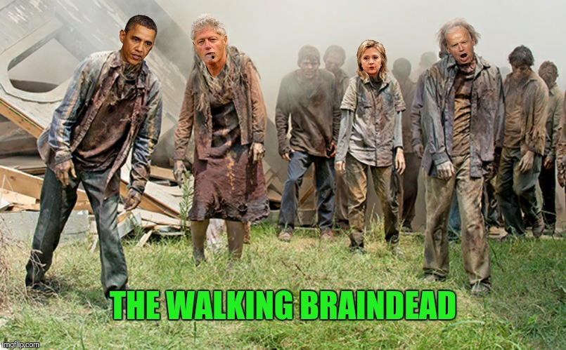 THE WALKING BRAINDEAD | made w/ Imgflip meme maker