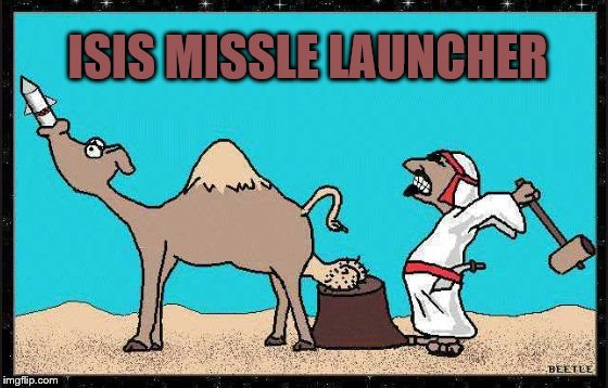 THATS NUTS! | ISIS MISSLE LAUNCHER | image tagged in memes,nuts | made w/ Imgflip meme maker