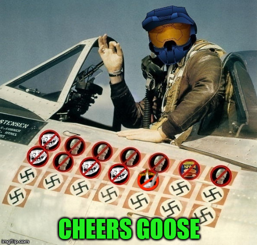 CHEERS GOOSE | made w/ Imgflip meme maker