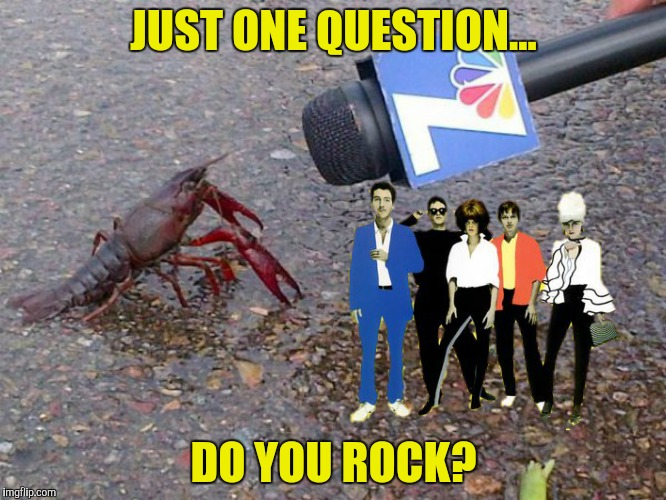 JUST ONE QUESTION... DO YOU ROCK? | made w/ Imgflip meme maker