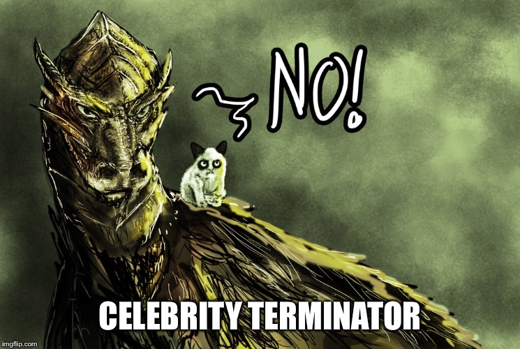 CELEBRITY TERMINATOR | made w/ Imgflip meme maker