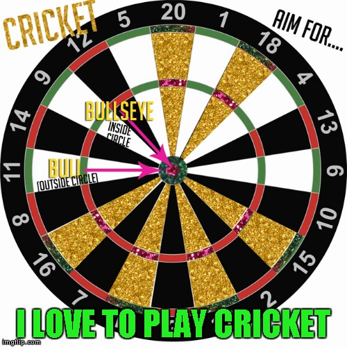 I LOVE TO PLAY CRICKET | made w/ Imgflip meme maker