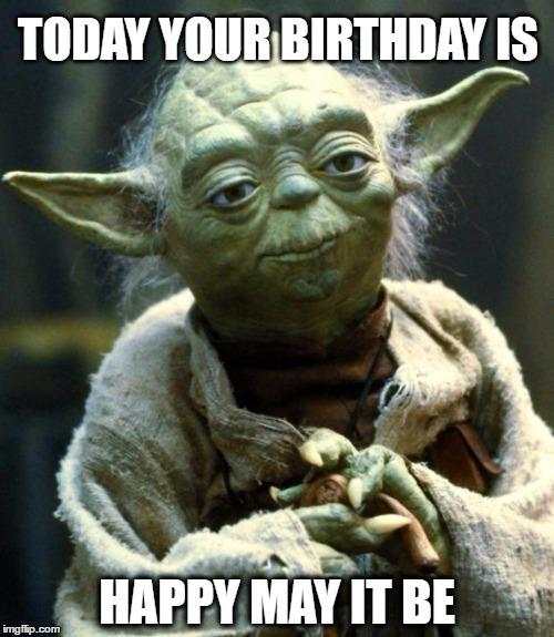 yoda birthday meme Happy Birthday Yoda   Imgflip yoda birthday meme