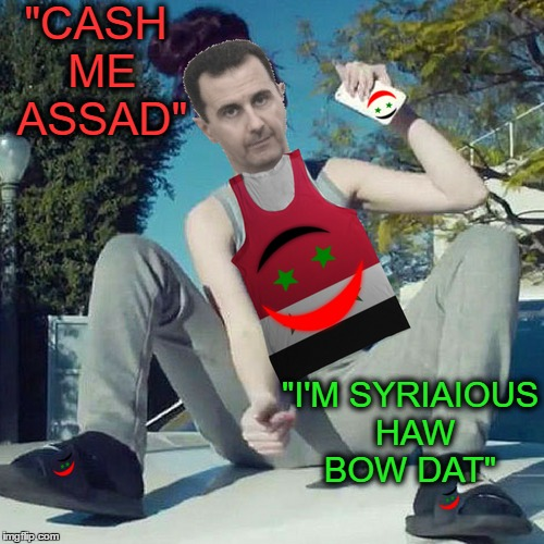 "Muhammad Assad Catch Me Outside  | ""CASH ME ASSAD"" ""I'M SYRIAIOUS HAW BOW DAT"" 