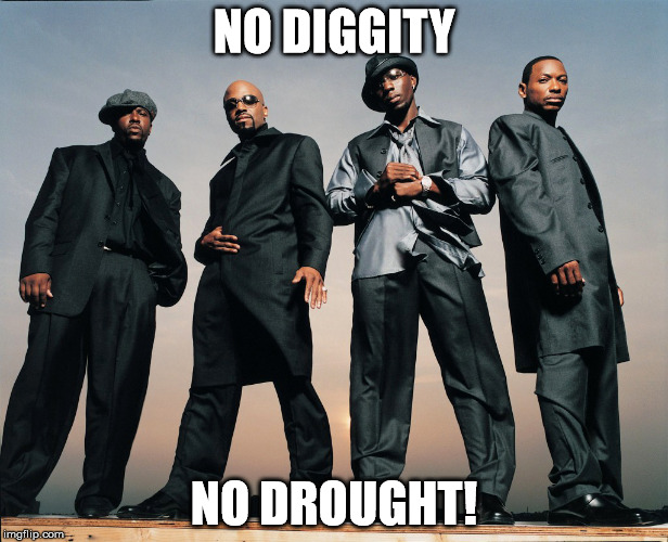 NO DIGGITY; NO DROUGHT! | image tagged in no diggity no drought | made w/ Imgflip meme maker
