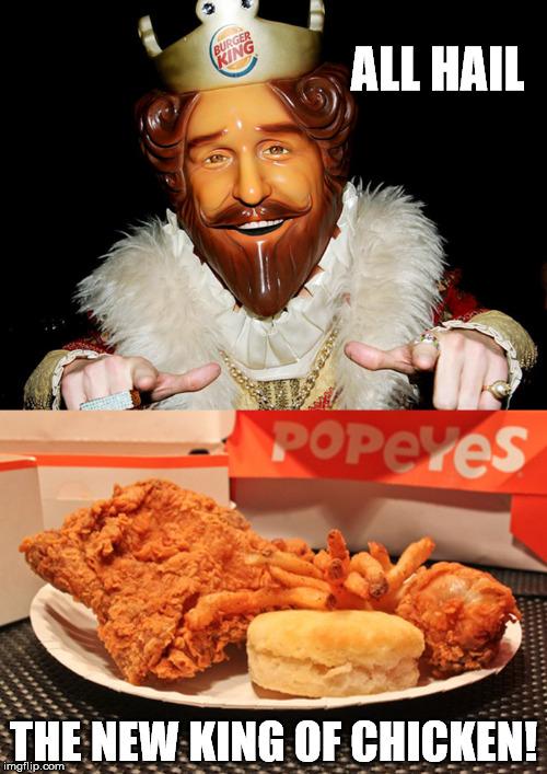 Image result for popeyes chicken meme