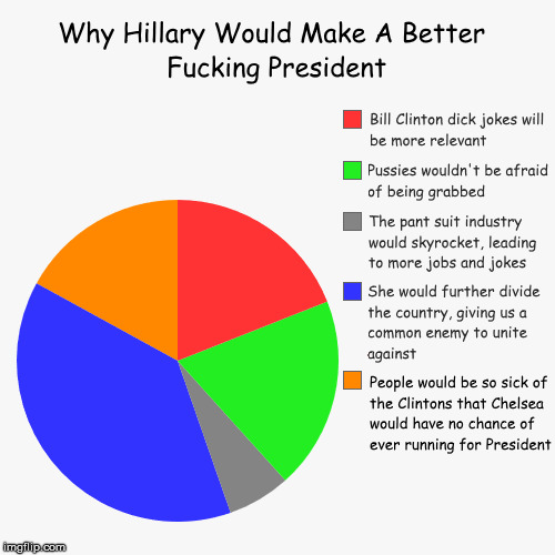 "An NSFW ""Clinton Would Make A Better President"" using Comic Sans Challenge by socrates 
