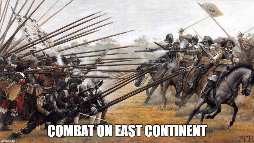 COMBAT ON EAST CONTINENT | made w/ Imgflip meme maker