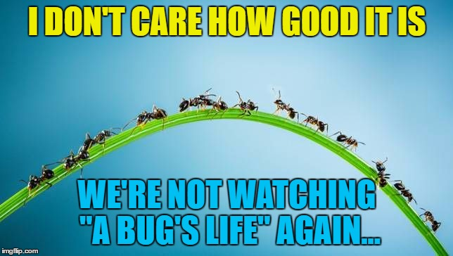 "How about ""Antz"" instead? :) 
