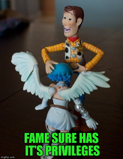 FAME SURE HAS IT'S PRIVILEGES | made w/ Imgflip meme maker