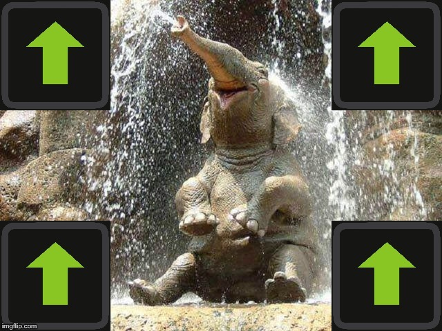 Upvote Elephant | . | image tagged in upvote elephant | made w/ Imgflip meme maker