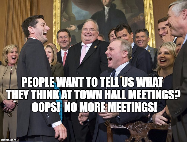 Image result for PHOTOS OF PAUL RYAN AT TOWNHALL MEETING