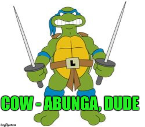 COW - ABUNGA, DUDE | made w/ Imgflip meme maker