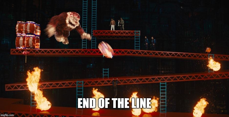 END OF THE LINE | made w/ Imgflip meme maker